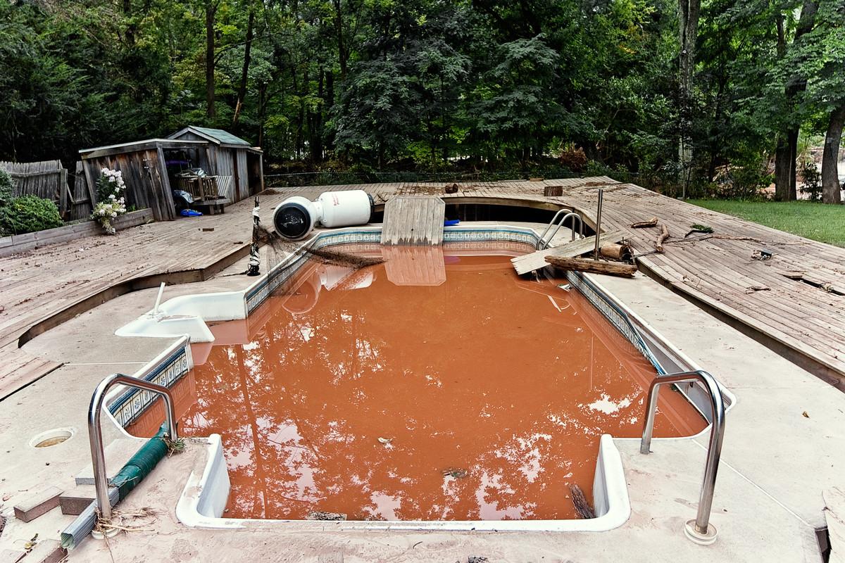 Flooded Pool