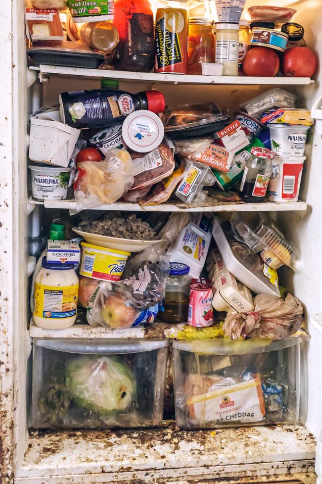 Overstocked Refrigerator