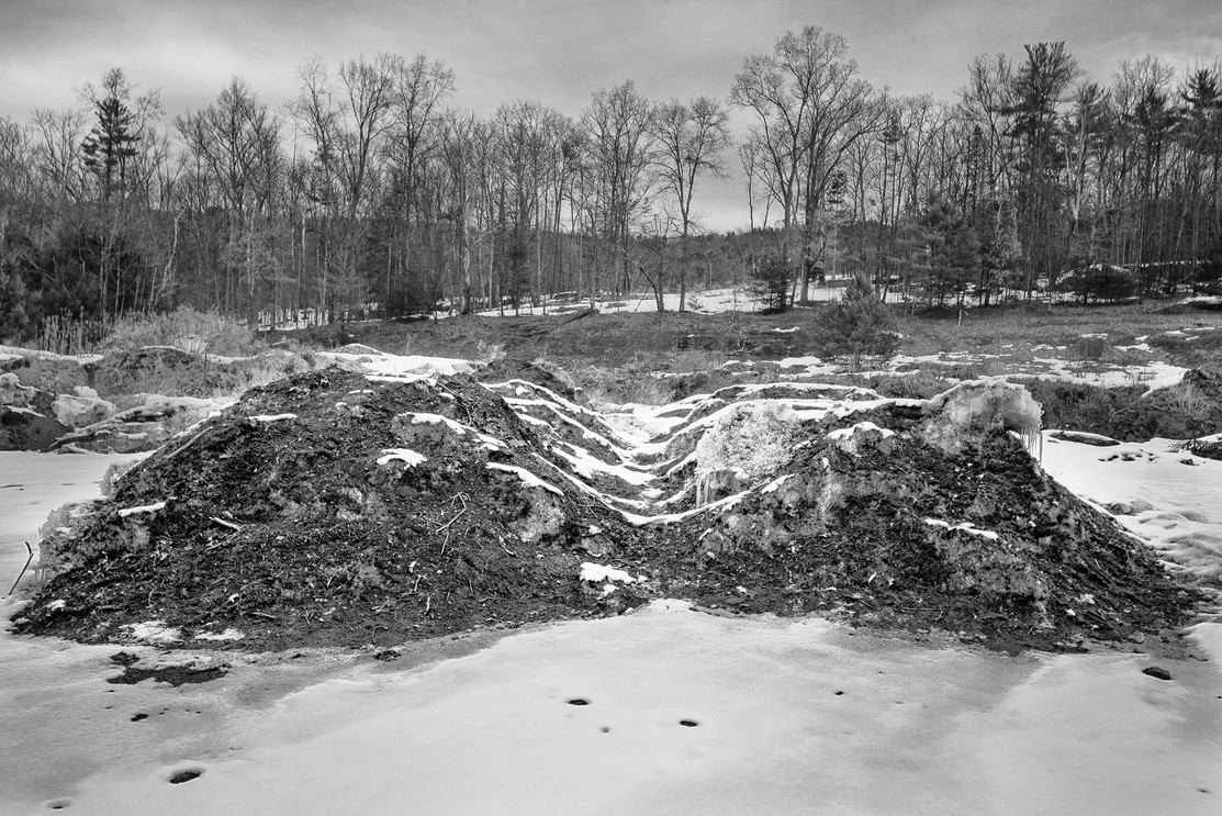 Dirty Snow Piles