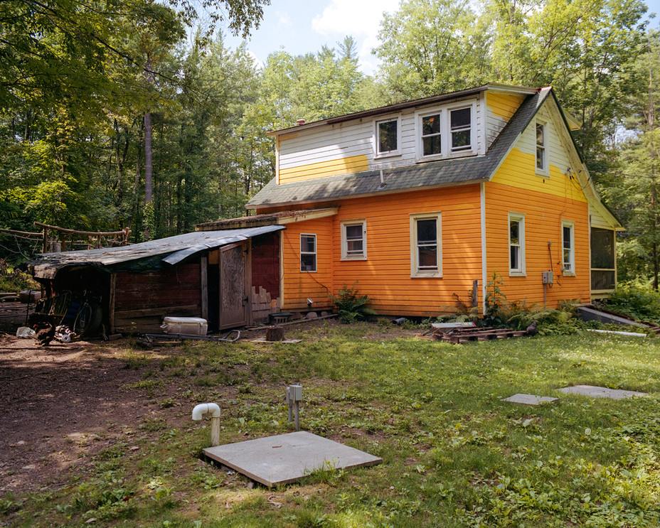 Backyard with Septic