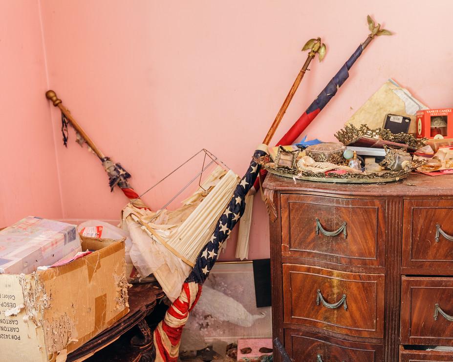 Pink Bedroom Flags