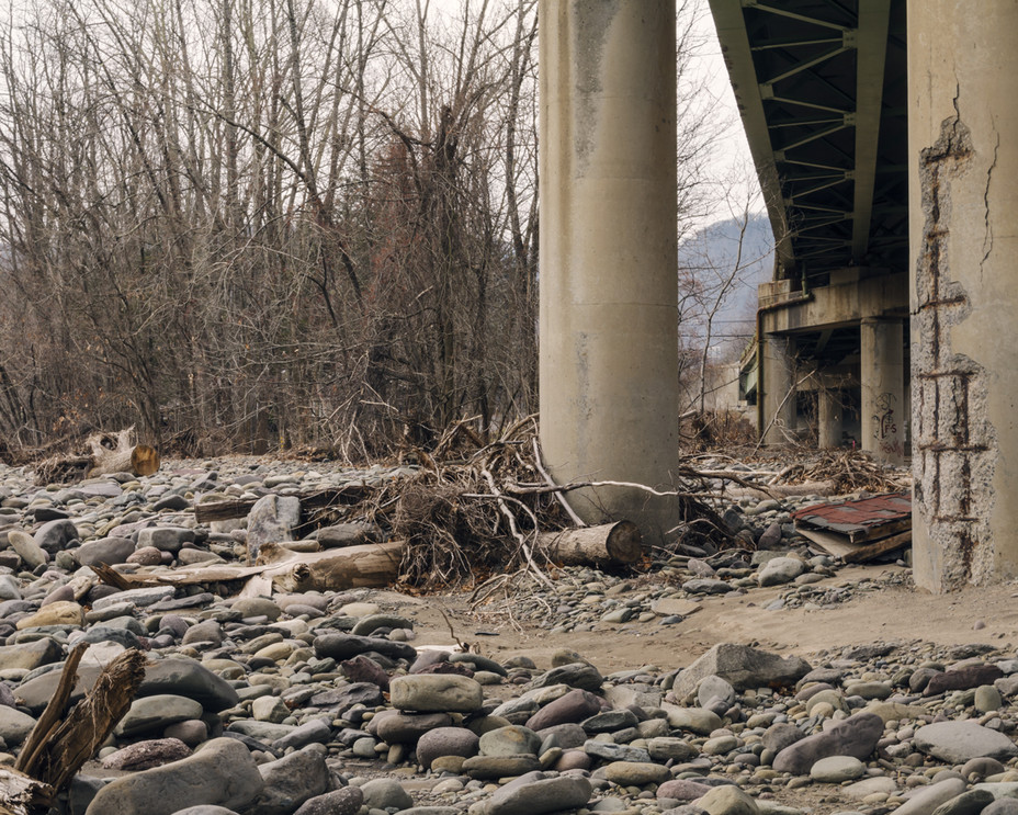 Esopus Bridge After the Flood