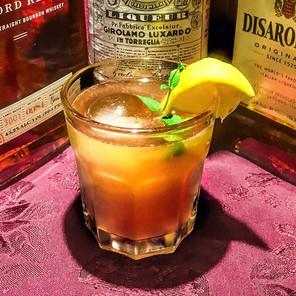 Cherry Whiskey Smash