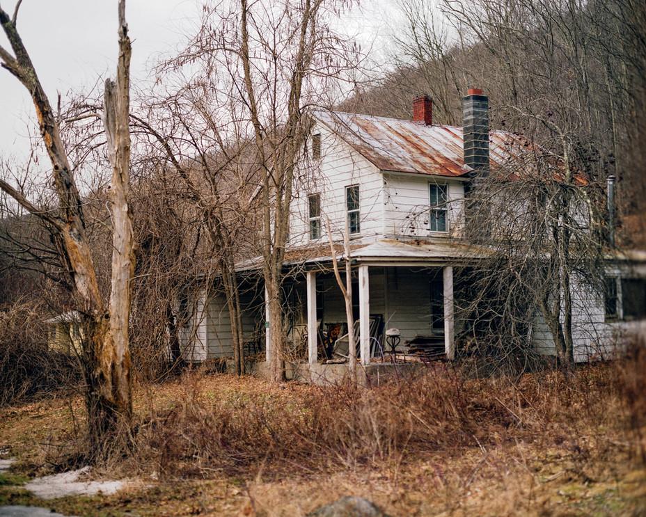Overgrown Lanesville Home