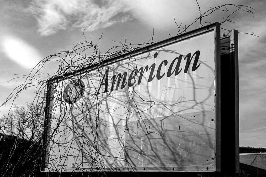 American Sign with Shadows
