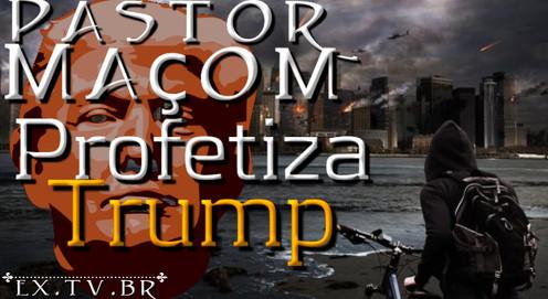 💣 PASTOR Maçom americano profetiza REELEIÇÃO de TRUMP e atentado contra sua vida em 2021!