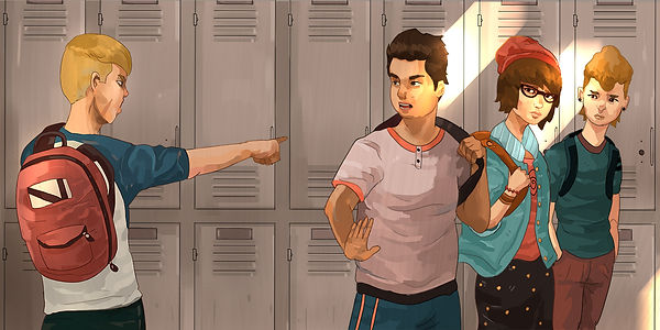 Standing up to bullies, protecting the bullied