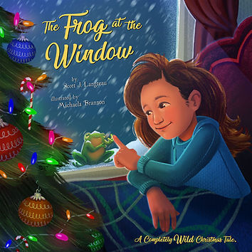 The Frog at the Window by Scott Langteau Cover Image