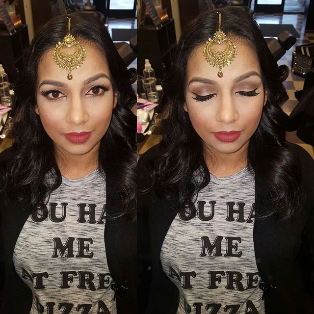 Done by _shelly_kaur_#getacut916 #eyebrowsonfleek #hardpart #sacramento #natomas #natomassalon #make