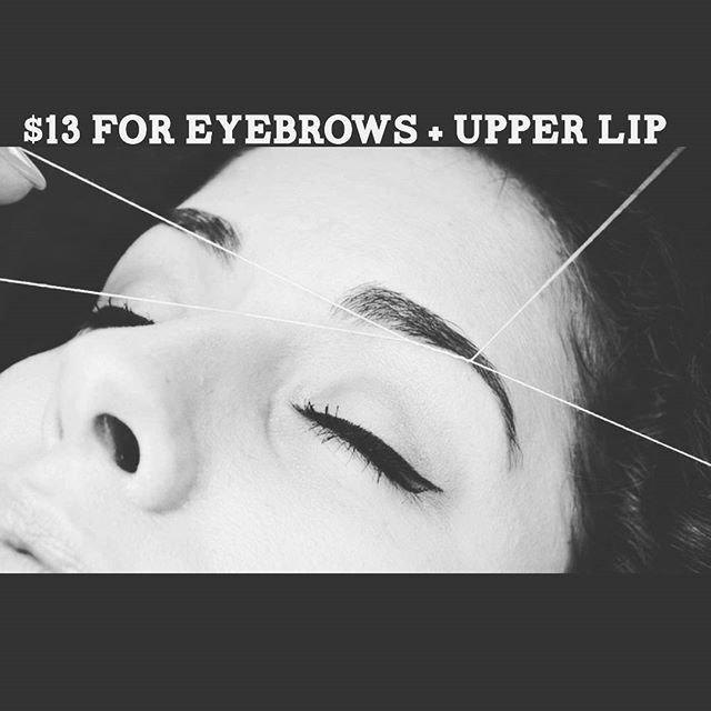 Eyebrow & Lip Threading NATOMAS
