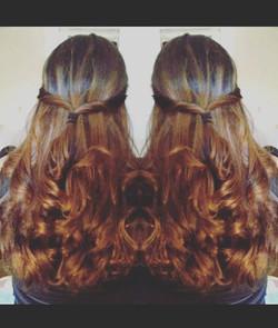 Everyday is a different #hair day #getacut916 #eyebrowsonfleek #hardpart #sacramento #natomas #natom