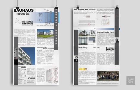 Bauhaus leaflets