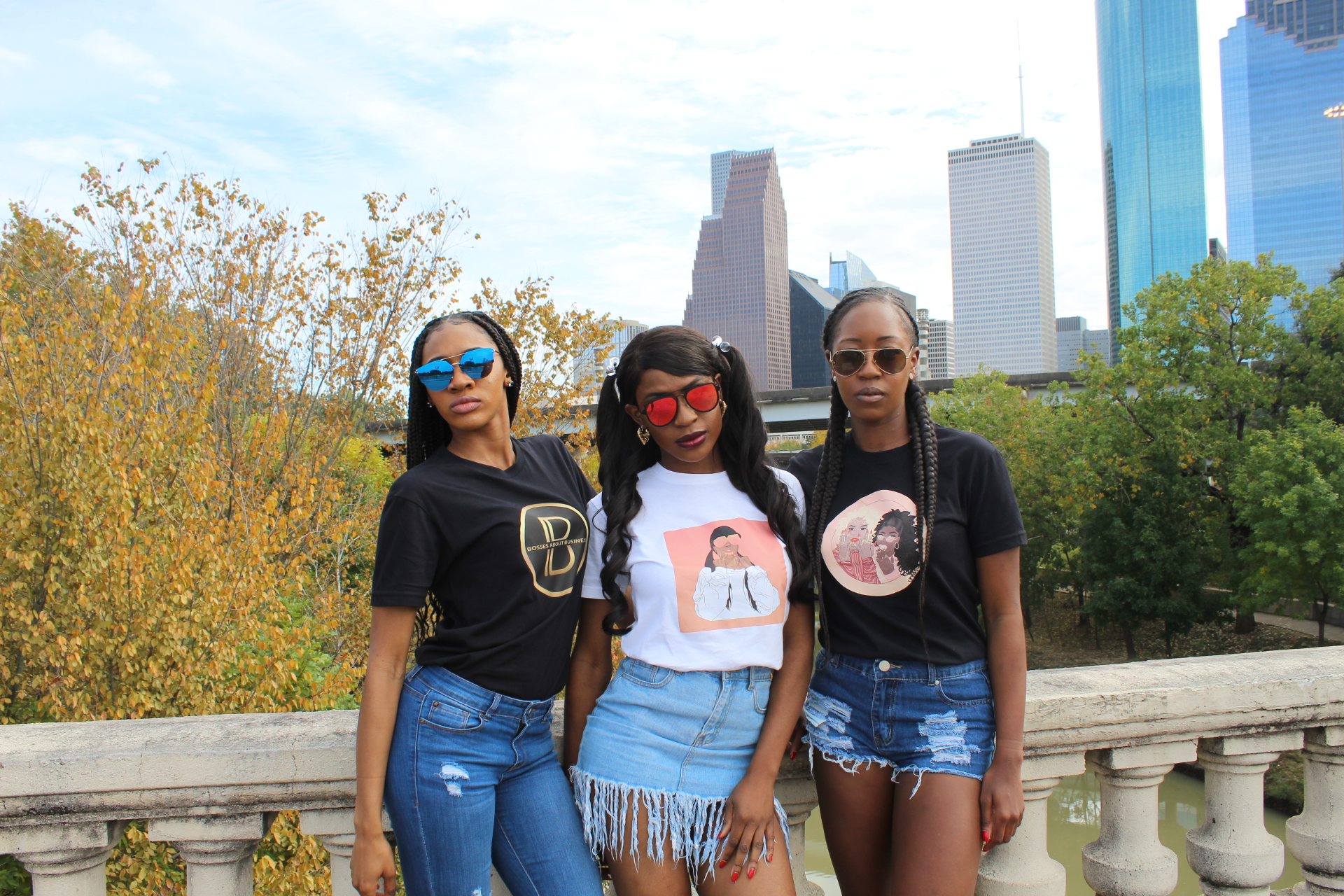 Bosses Signature Logo, Bossed Up, & Duo Drip Graphic Tees