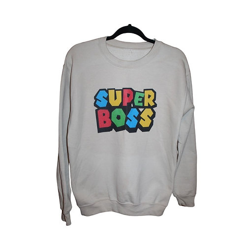 Super Boss Crewneck Sweatshirt (Unisex)