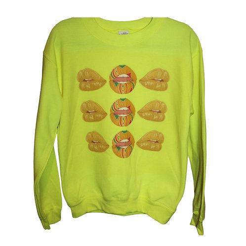 Nubian Lips Crewneck Sweatshirt (Unisex)