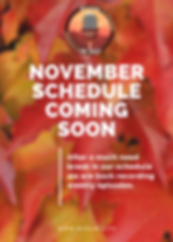 November Schedule Coming Soon.png