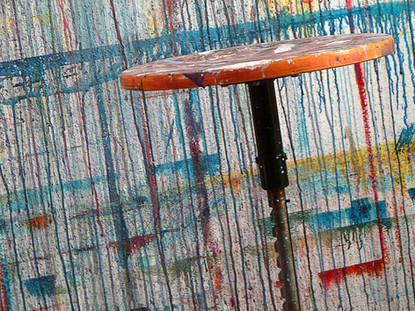 Esthétique - Tabouret d'artiste / Esthetics - Artist's Stool