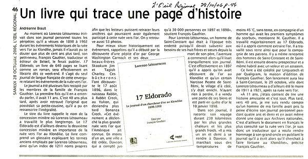 2006-10-28+WEB+ L'OEil Régional - Lorenz