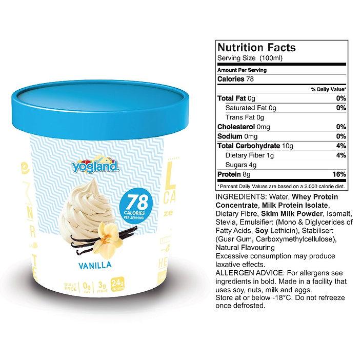 Vanilla Protein Ice Cream