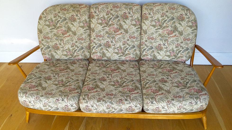 Ercol 203 Windsor Stickback 3 Seater Sofa