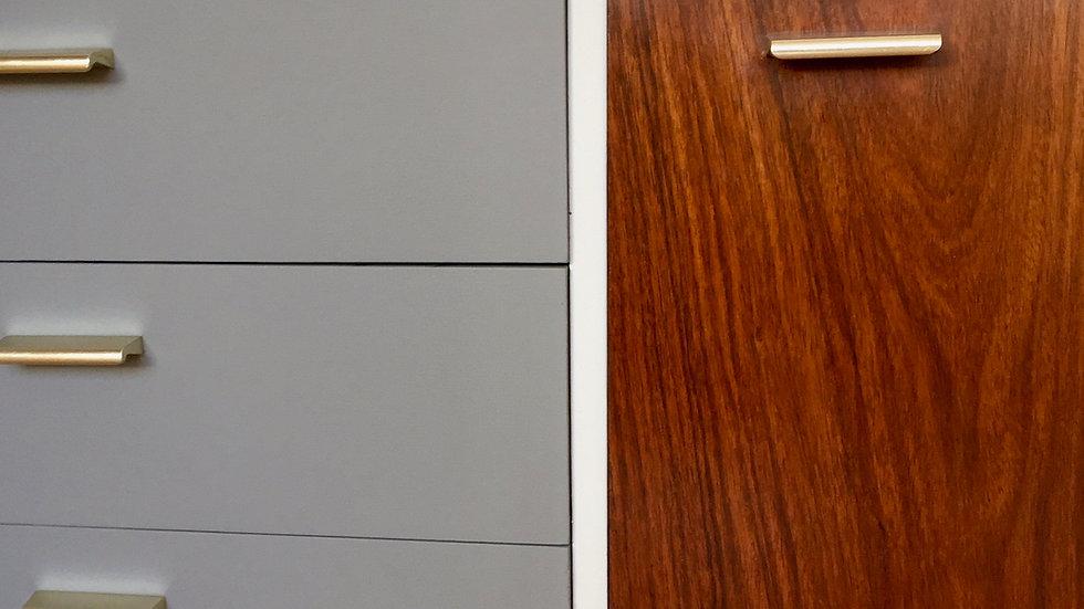 Mid Century Upcycled Wrighton-Sideboard