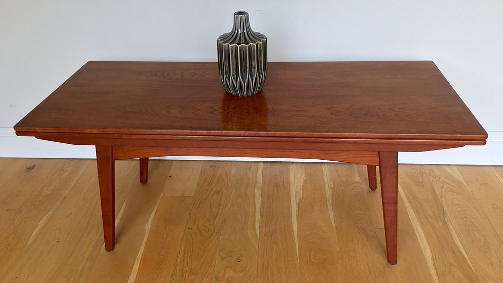 Mid Century Danish Metamorphic Coffee/Dining Table