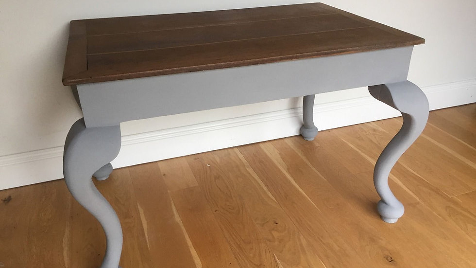 Antique Upcycled Solid Oak Console/Dining Table