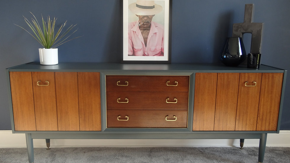 A superb 1950's Mid Century G Plan Sideboard designed by E Gomme.