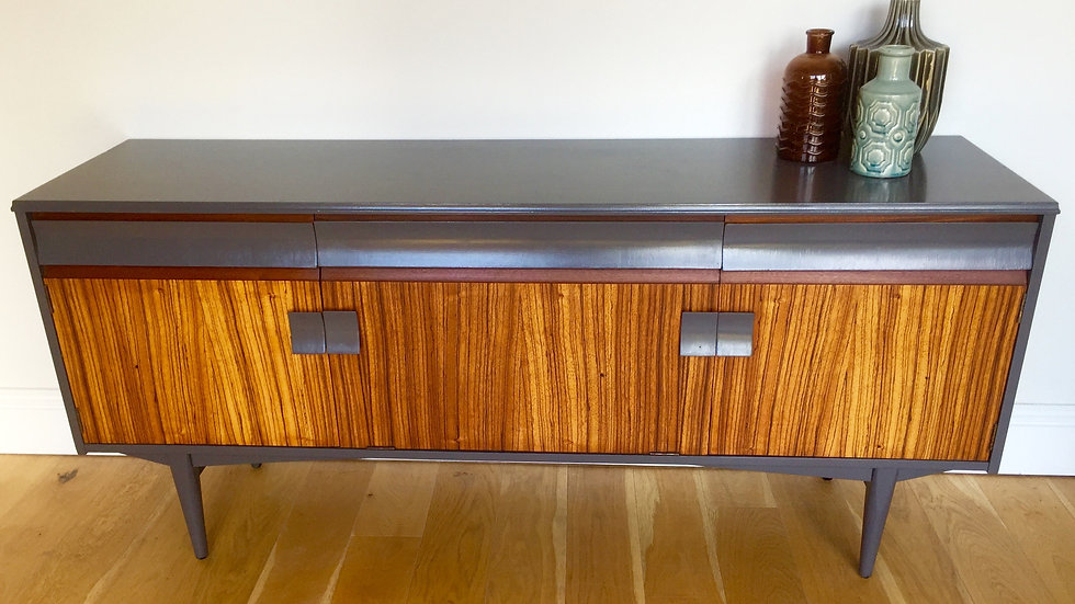 Up-Cycled Mid Century Sideboard