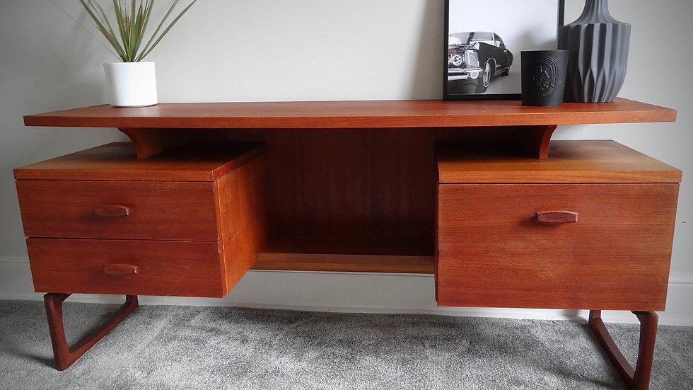 G Plan  Retro Mid Century Quadrille Range Desk Designed By R Benne