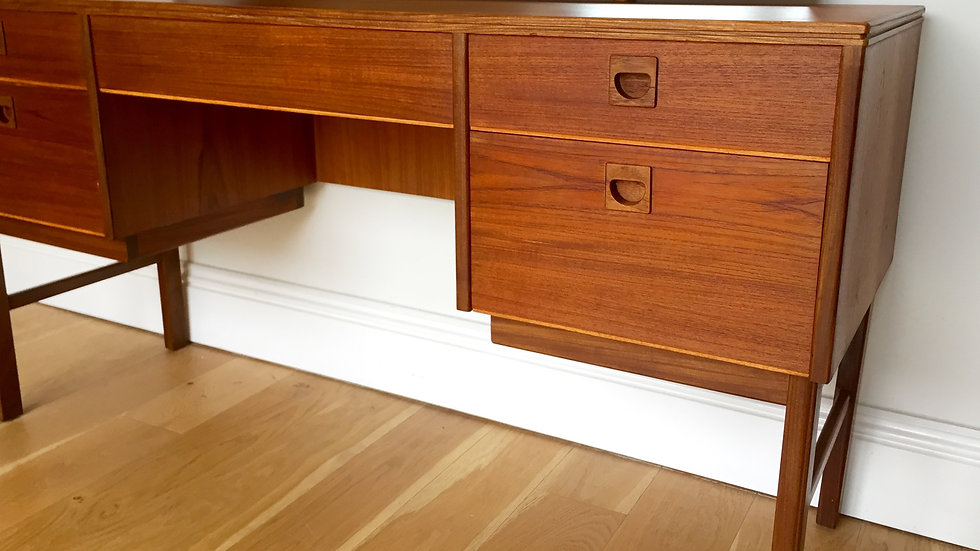 Mid Century Teak Dressing Table by Alfred Cox
