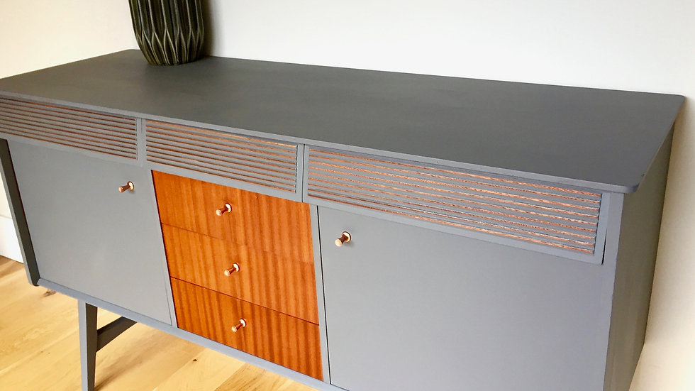 Nathan Mid Century Upcycled Sideboard