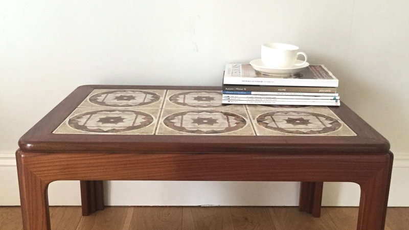 G Plan Tiled Teak Coffee Table