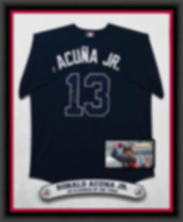 BRAVES Ronald Acuna Jr - Dr Blue Jersey