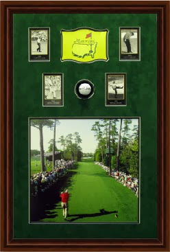 Arnold Palmer at the Masters w ball