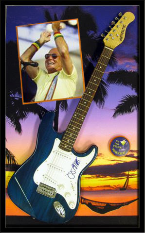 Jimmy Buffett Guitar Shadowbox ll