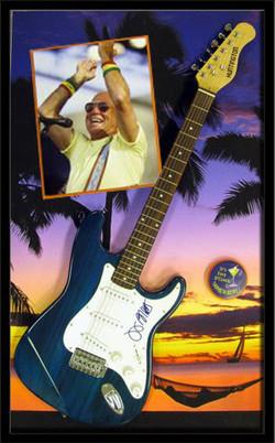 Jimmy Buffett Guitar Shadowbox ll