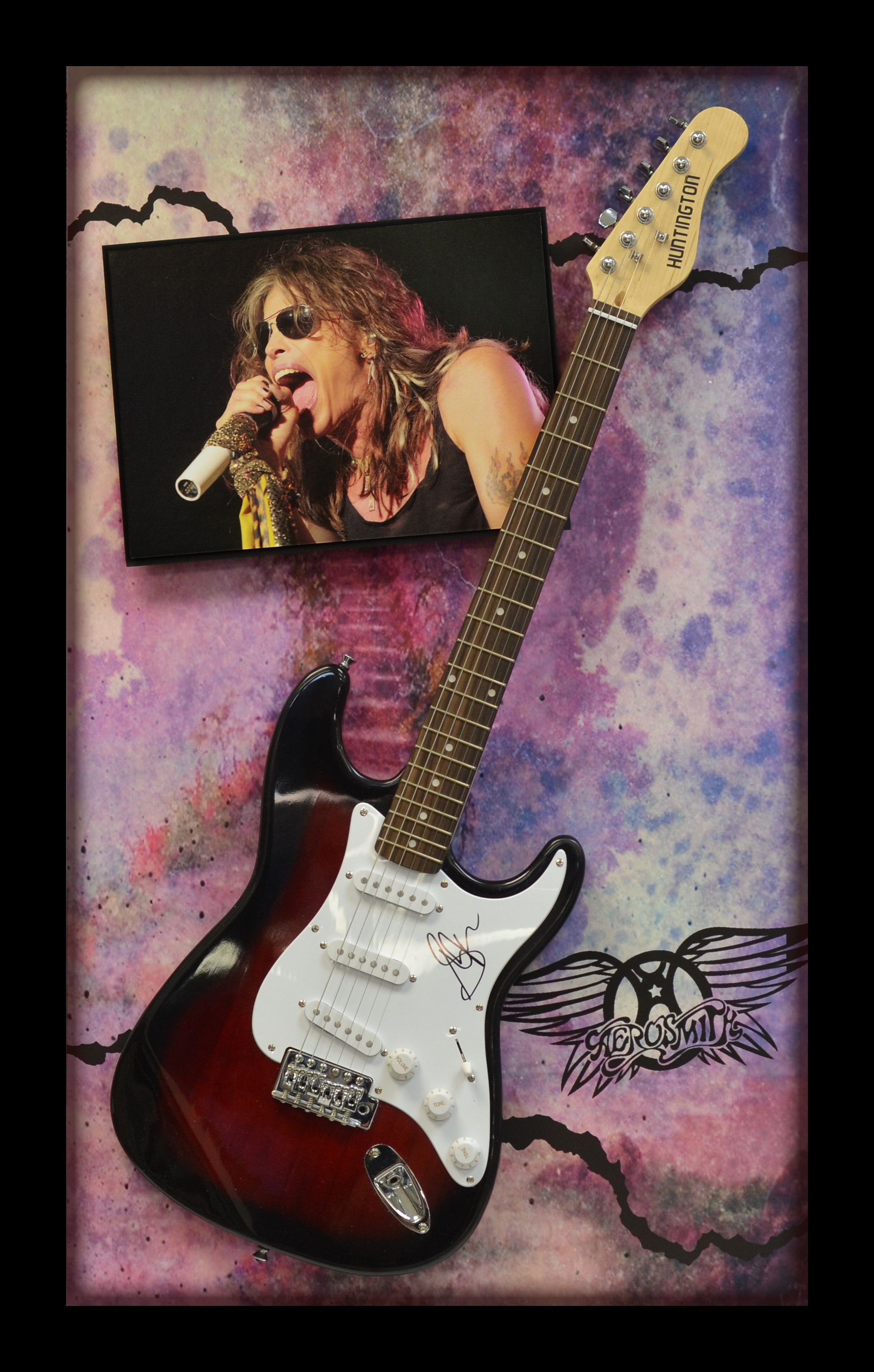 Aerosmithy Guitar Shadowbox