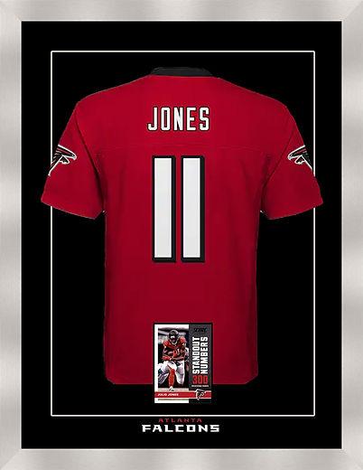 Falcons Jersey Jones framed.jpg