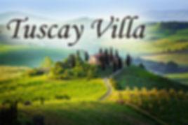 Tuscay villa Fundraising trips