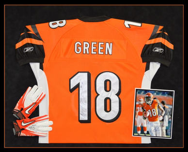 A. J. Green Jersey Shadowbox