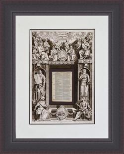 King James 1642 Bible leaf