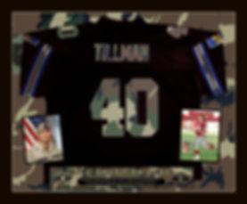 Pat Tillman black Jersey