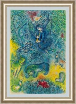 Chagall Magic Flute  24x36 framed-001