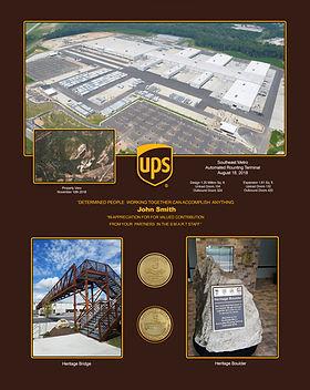 UPS Southeast Metro 3d Commoration  - Cu