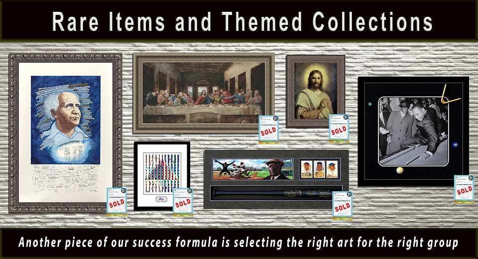 wall with themed collections 12x6 profes