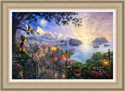 Thomas Kincade - Pinocchio