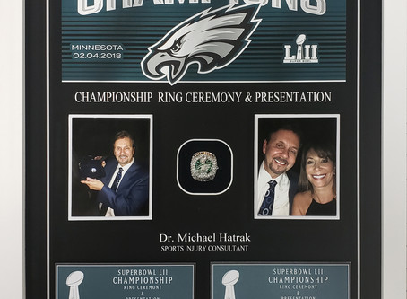 Philadelphia Eagles- Championship Ring Ceremony