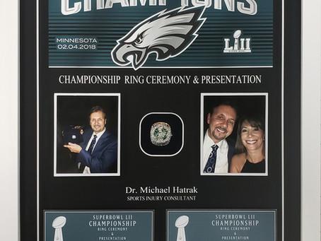 Philadelphia Eagles- Championship Ring Ceremony