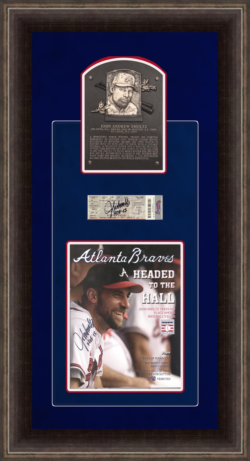 John Smoltz hall of frame